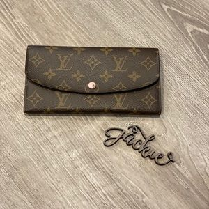 Authentic Louis Vuitton emilie wallet rose pink